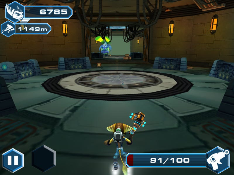 There's a Ratchet & Clank Endless Runner for Mobile. Huh.