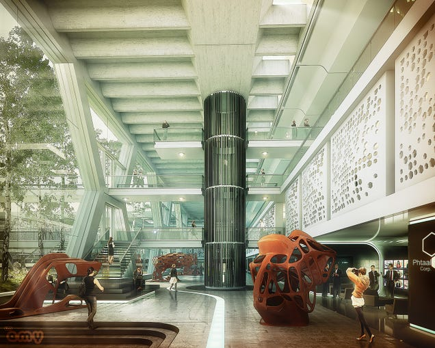 The Cities (And Buildings) Of The Future Look Beautiful