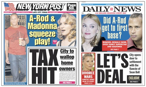 Alex Rodriguez and Madonna Both Respectfully Decline To Comment On Their Imaginary Relationship, Thank You