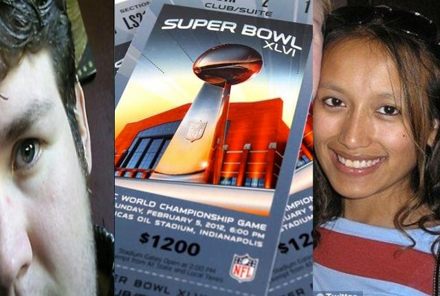Someone Is Probably Lying About The Super Bowl Tickets Cancer Break Up, But Who?