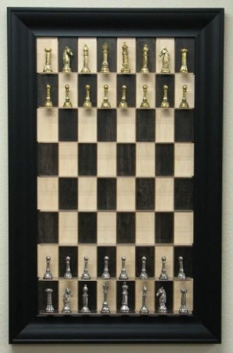 Straight-Up Wall Chess Makes Knocking-Over Your King More Dramatic