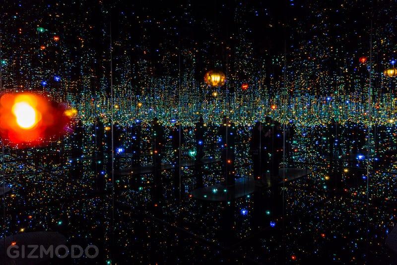 Explore the Extraordinary, Glittering Infinity Rooms of Yayoi Kusama