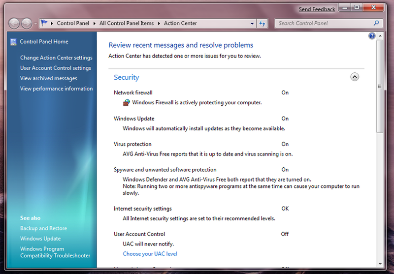 Windows 7 Networking and Security: HomeGroup, User Account Controls and More