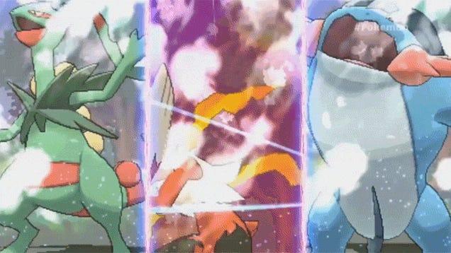 Pokémon's New Mega Evolutions, In Action
