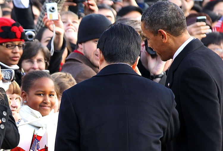 Sasha Obama Chats With Hu Jintao, in Chinese