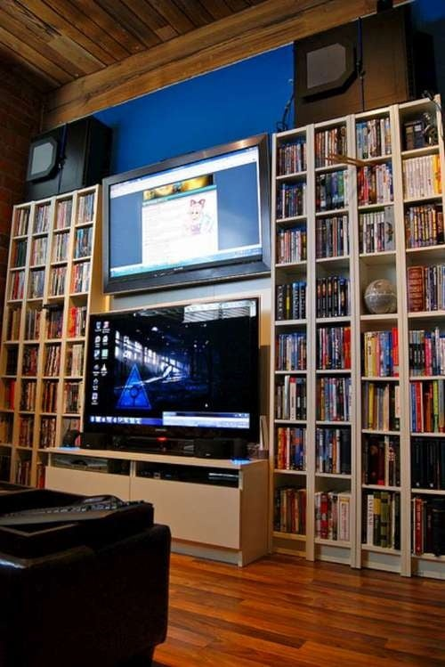 Double-Decker TVs Perfect For His and Her Gaming