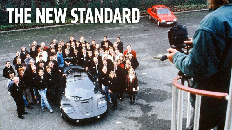 The Amazing Story Of How The Very First McLaren F1 Was Born