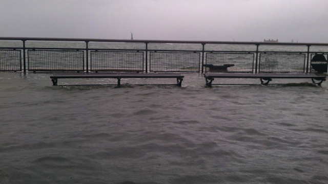 Manhattan Is Flooding and Sandy Hasn't Even Hit Yet
