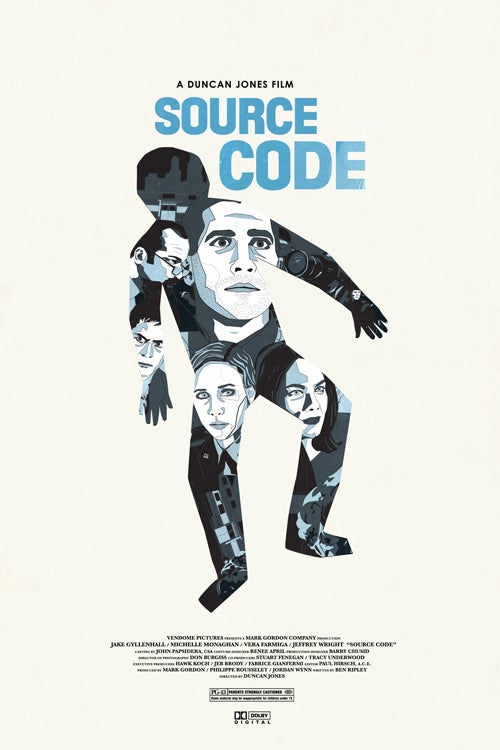 Source Code poster is the best thing we've seen from Duncan Jones' film yet