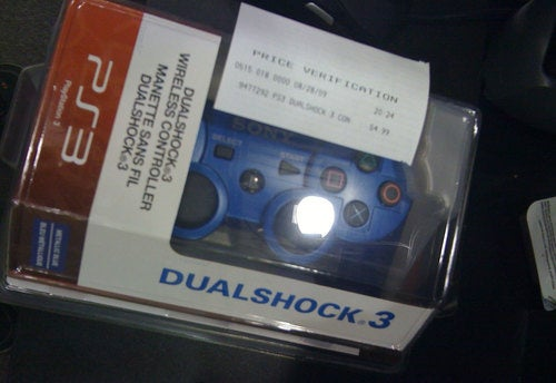 Red, Blue DualShock 3 Pads Already Available
