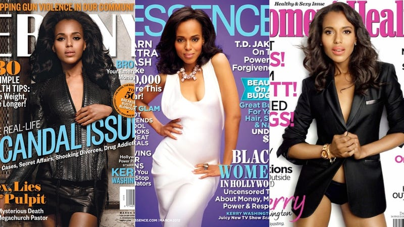 Where Is Kerry Washington's Major Magazine Cover?