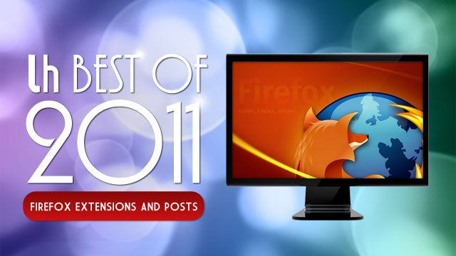 Most Popular Firefox Extensions and Posts of 2011