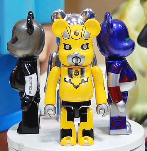 Transformer-Themed Bearbricks Protect The All Spark, Steal Food From Campers