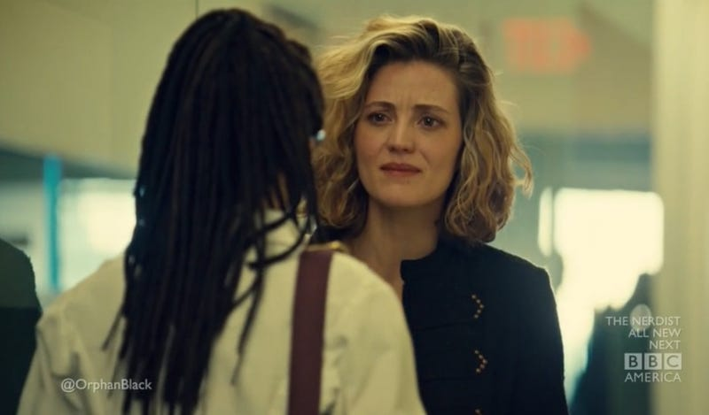 Anyone can be a spy for the cloners on Orphan Black—and we love it