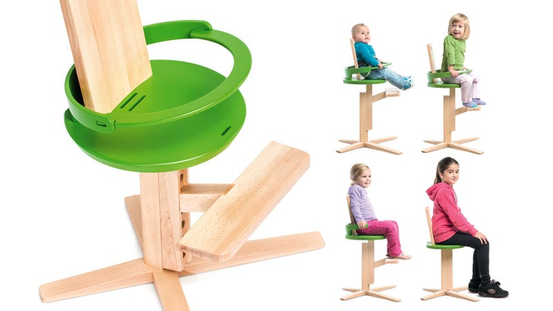 A Beautiful Minimalist High Chair Your Baby Won't Outgrow
