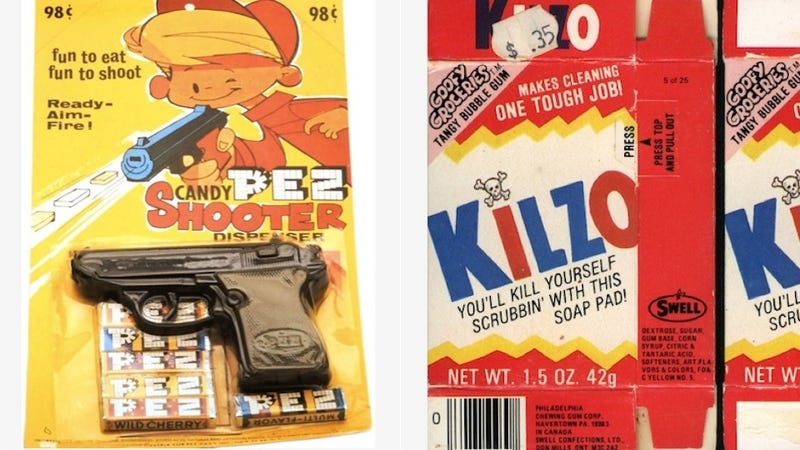 8 Unfortunate Vintage Candy Wrappers