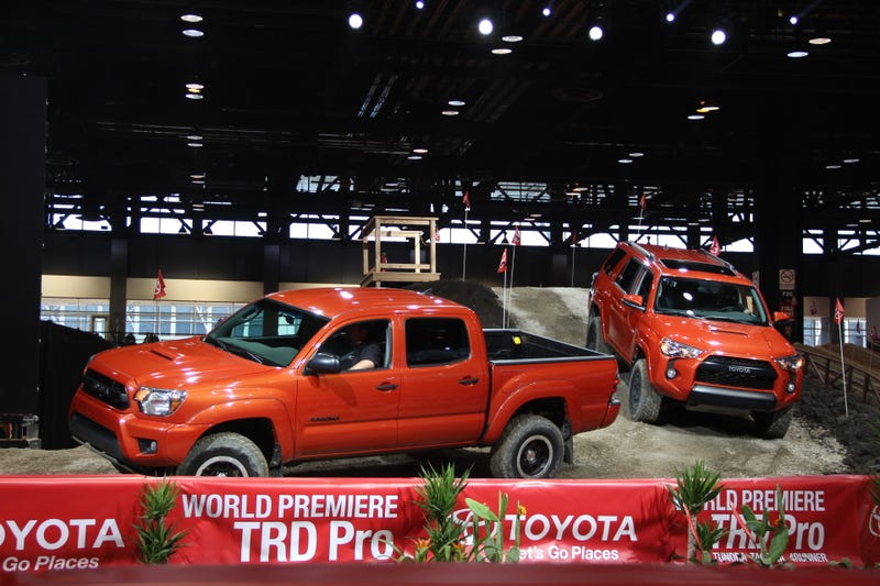 'Toyota TRDPro' Kit Is Pretty Much A New Grille, But It Looks Cool