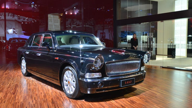 This Retro Communist Limo Is The Coolest Car At The Shanghai Auto Show
