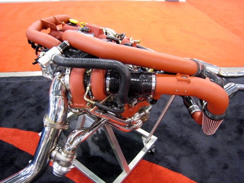 SEMA 2007: Turbo Plumbing Bonanza, Part 1