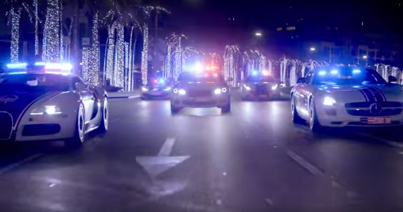 Here's A Peek Into Dubai's Insane $6.5 Million Police Fleet