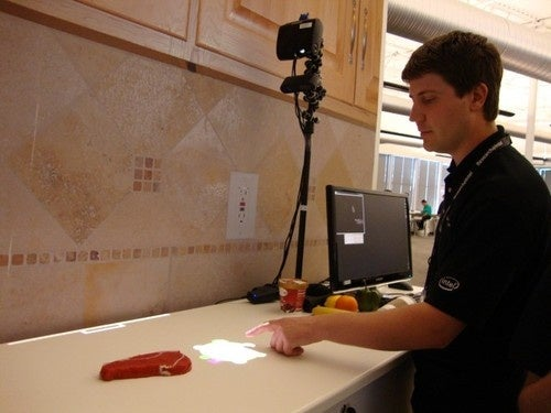 Researchers Will Turn Your Kitchen Counter Tops Into Touchscreens