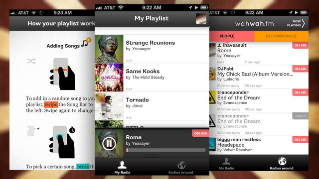 Wahwah.fm Turns Your iPhone Into a Broadcasting Radio Station