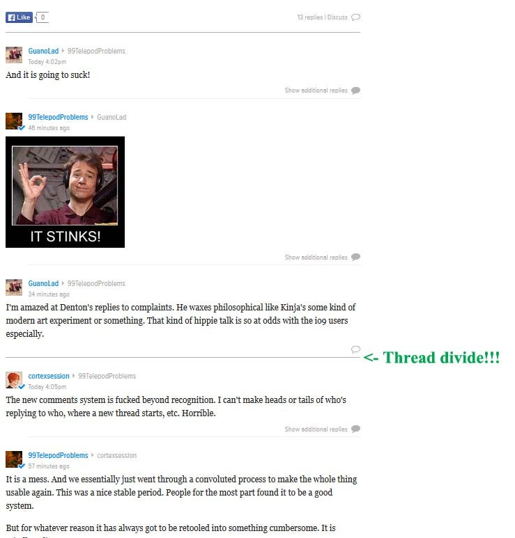 The Kinja 1.2 Primer + Comment Thread Workaround
