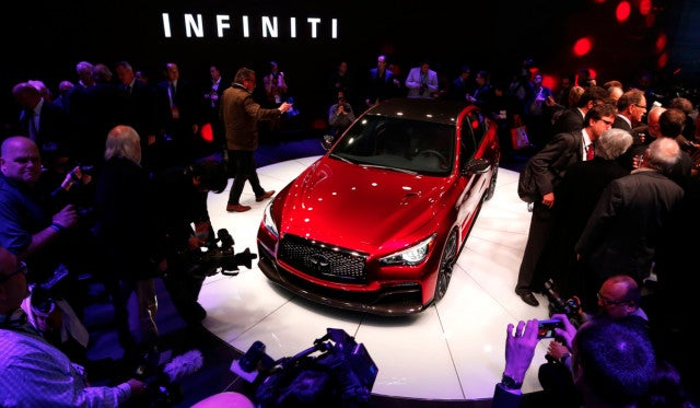 Infiniti's Boss Wants The Brand To Be The Japanese Answer To BMW