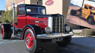 Oldest Peterbilt Truck On Earth Restored From Parts To Perfection