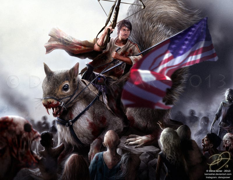 Squirrel-riding Daryl Dixon heralds The Walking Dead's return