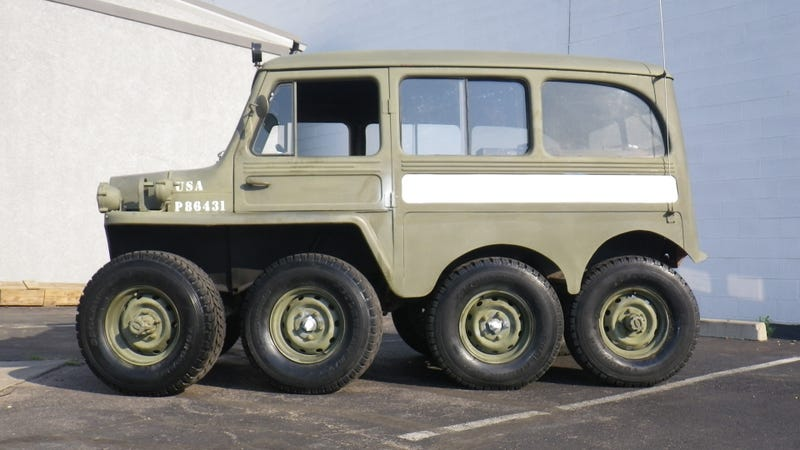 Eight-Wheel-Drive Jeep Gallery