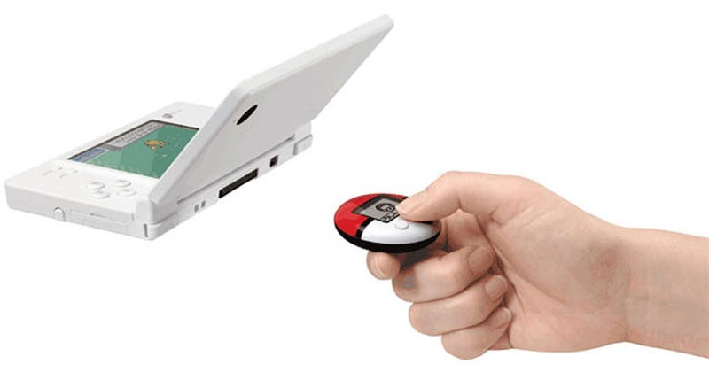 Pokemon Heart Gold/Soul Silver Come With Pedometer