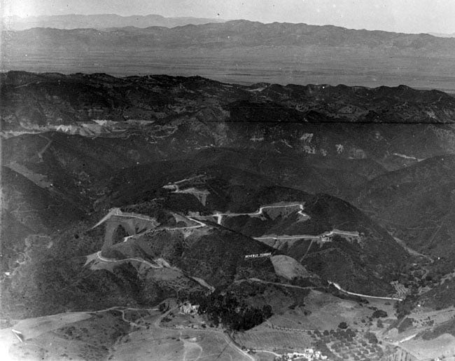 Before the Hollywood Sign Found Fame, Others Signs Dotted LA's Hillsides