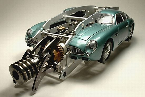 Steampunk Aston Martin Model?