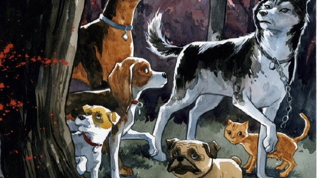 "Our favorite ""talking dogs versus eldritch horror"" comic book is becoming a movie"