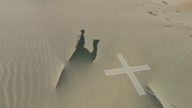 Screw Cars, Meet the Google Street View Camel