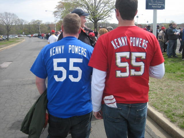 You Know When The Homemade Kenny Powers Jersey Looks Cool? When You're Getting Arrested