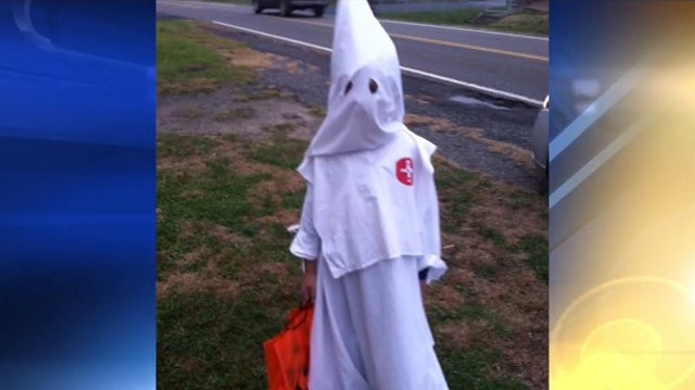 Mom Defends Dressing Up Son As KKK Member for Halloween: It's Tradition
