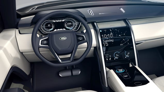 Land Rover Discovery Sport Interior Looks Nothing Like The