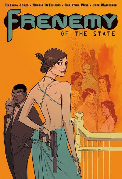 Her Life In Comics: Rashida Jones Makes A Frenemy