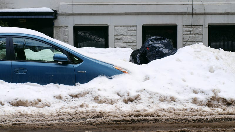 The Best/Worst Snow-Stuck Cars Of The Winter