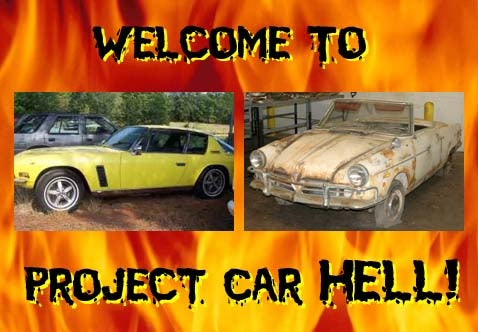 Project Car Hell: Interceptor or NSU Wankel?