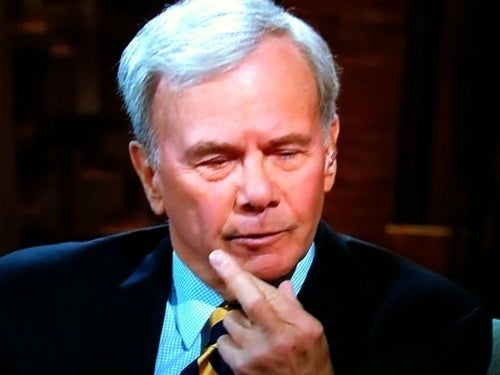 With One Raised Digit, Tom Brokaw Inadvertently Expresses NBC's Contempt For You: Open Thread