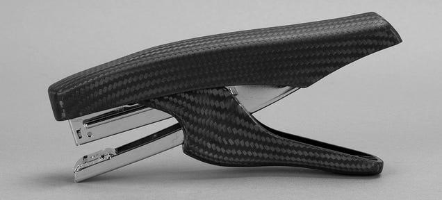A Carbon Fiber Stapler Is Definitely More Lustworthy Than a Swingline