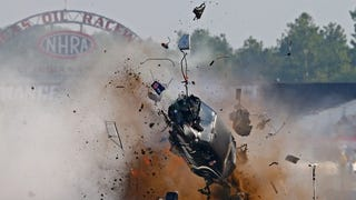 Tim Tindle Crashes at US Nationals