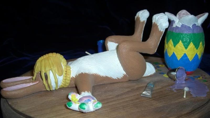This Easter, celebrate with face-hugger-impregnated bunnies