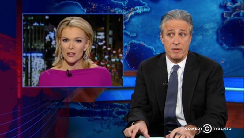 Jon Stewart Teaches Megyn Kelly a Thing or Two About Jokes