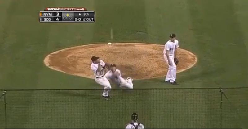 White Sox Blow Lead In Ninth; Hawk Harrelson Goes Silent