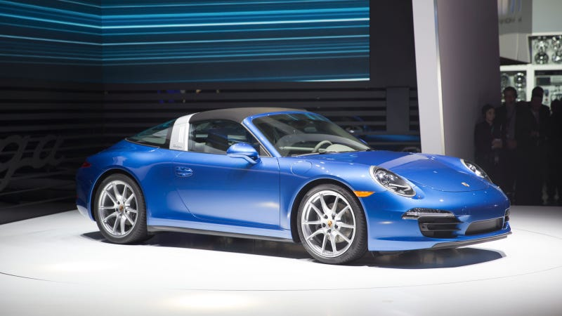 The Top Of The 2014 Porsche 911 Targa Is Totally Bonkers