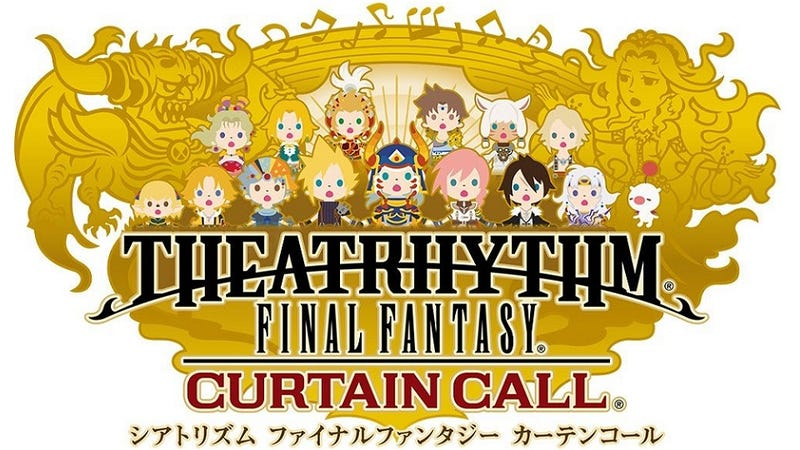 Check Out the 109 New Final Fantasy Tracks in Theatrhythm: Curtain Call
